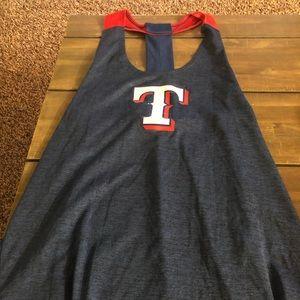 Super cute Texas Rangers tank top